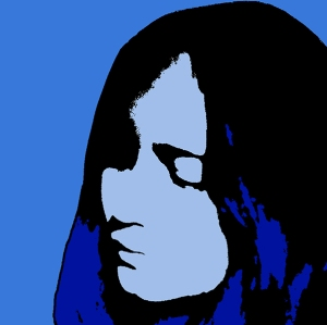 Blue Outline Girl-webversion