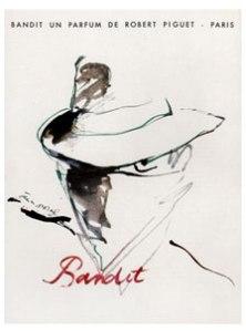 Bandit Robert Piguet vintage ad