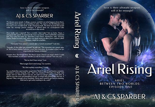 Ariel Rising Wrap